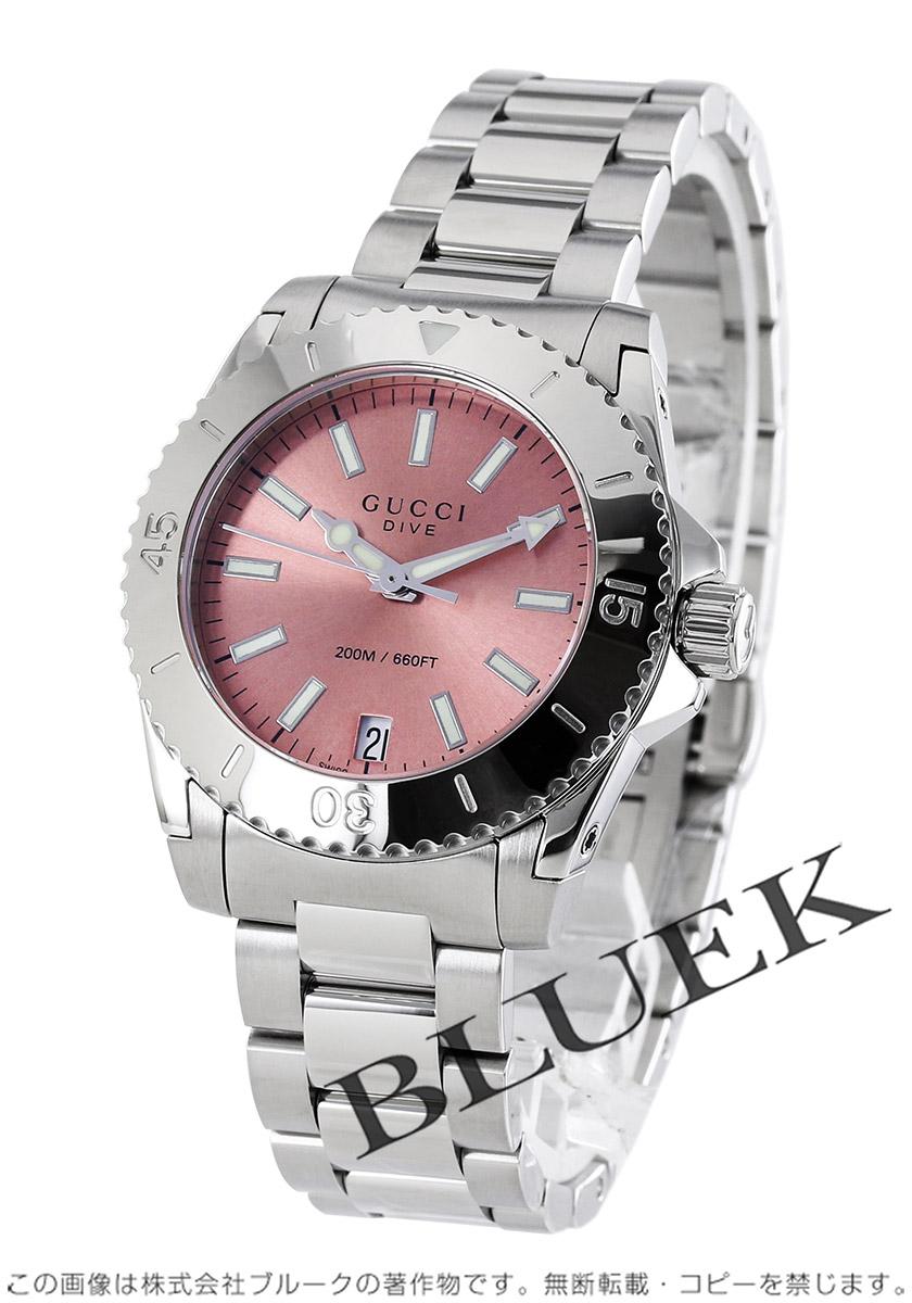 ef14ef4471a2 【楽天市場】グッチ ダイヴ 腕時計 レディース GUCCI YA136401:ブルークウォッチカンパニー