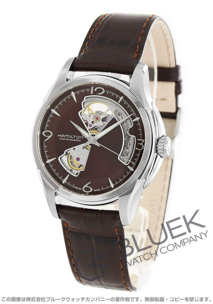 low priced 0f400 1ca07 ハミルトン ジャズマスター ビューマチック オープンハート 腕時計 メンズ HAMILTON H32565595_8 ブルークウォッチカンパニー