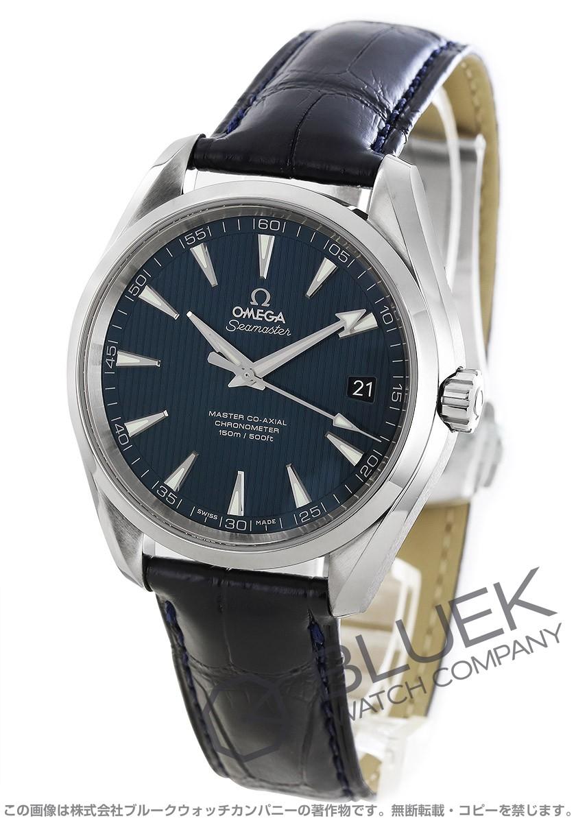 sale retailer 24cb5 58310 オメガ シーマスター アクアテラ アリゲーターレザー 腕時計 メンズ OMEGA 231.13.42.21.03.001_8|ブルークウォッチカンパニー