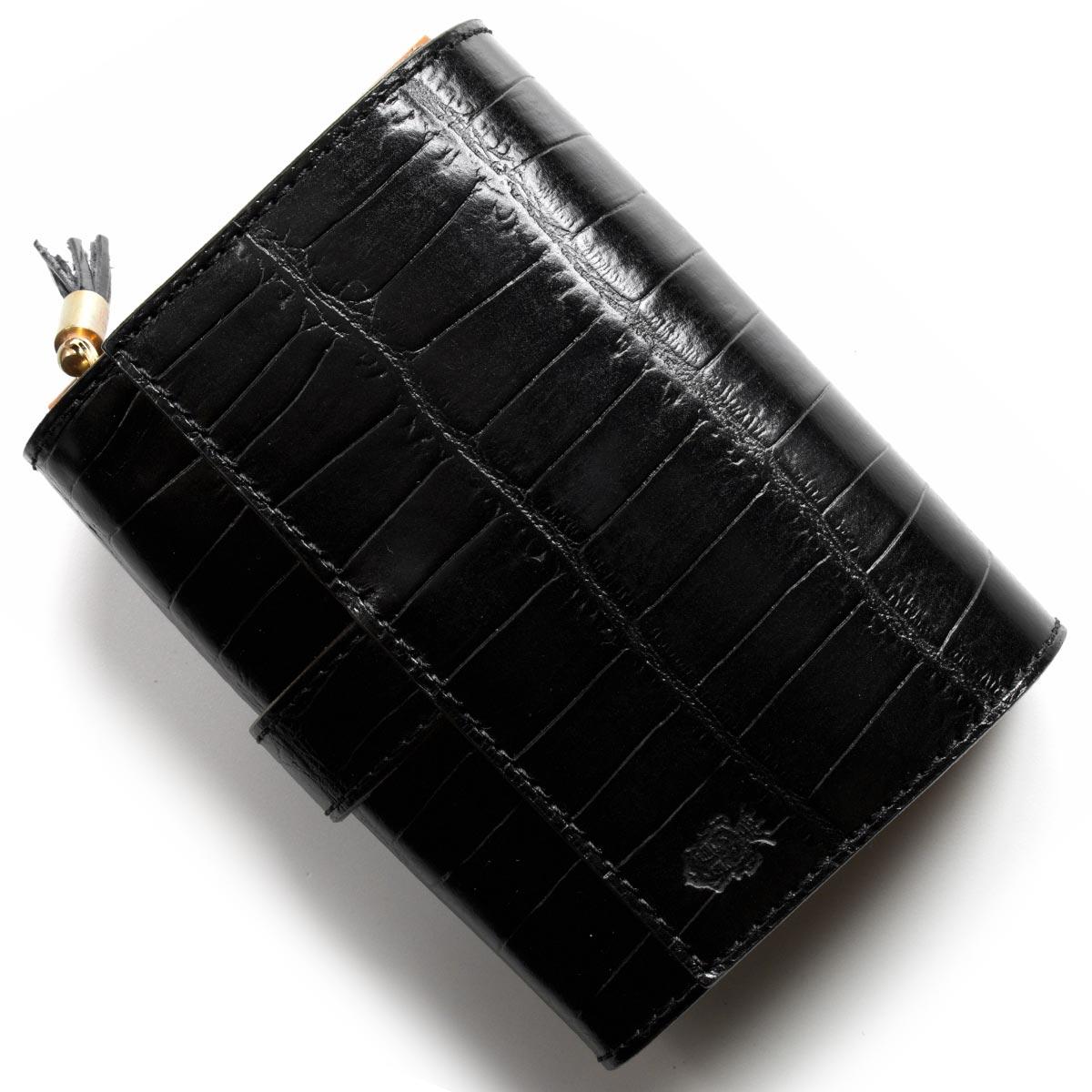 aeb23a111d5f フェリージ 二つ折り財布 財布 メンズ 長財布 レディース クロコ型押し ...