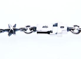 【シルバーネックレス】グラスプスター星silver925[クラウズシリーズ]