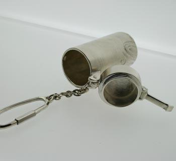 シルバー携帯灰皿