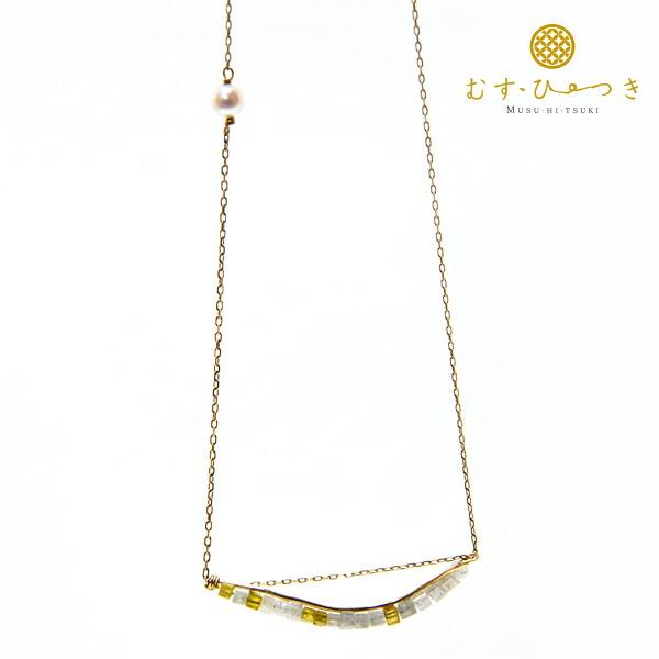 アコヤ真珠ネックレス k18 ゴールドネックレス べビーパール