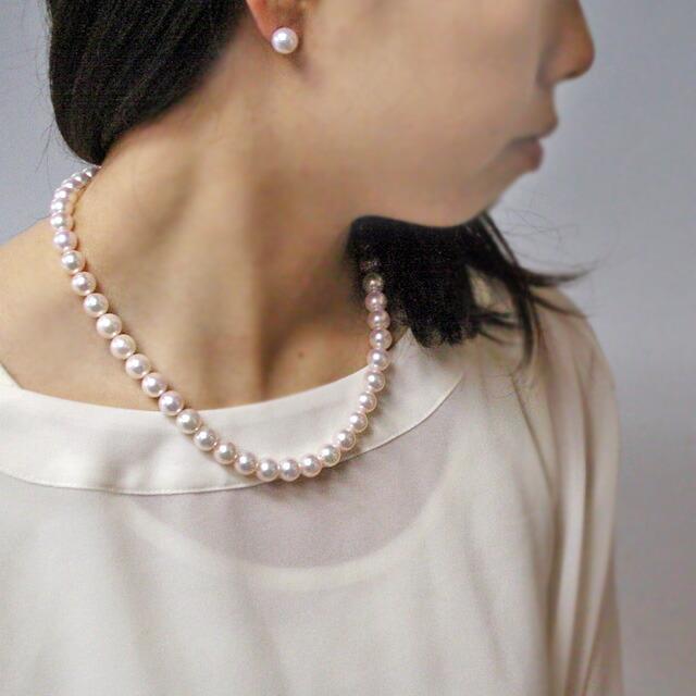 あこや真珠ネックレス パーティーに