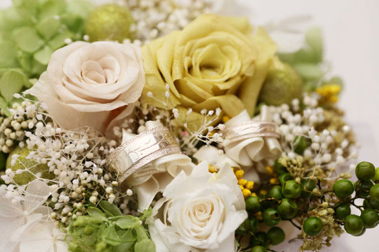 pairringflower ペアリングとプリザーブドフラワーのセット