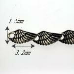 Blulaヴァルキリーのシルバーブレスwingsサイズ2