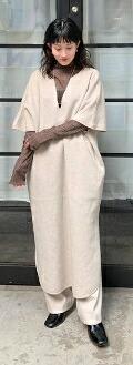 TODAYFUL Caftan Wool Dress