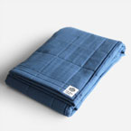 YARN HOME UKIHA Bath Towel(Indigo)