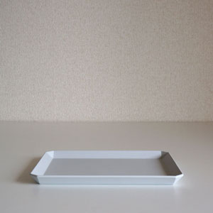 """TY """"Standard"""" Square Plate200(Plain Gray)"""