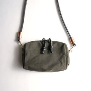 Yelapita Purse(Army Canvas)