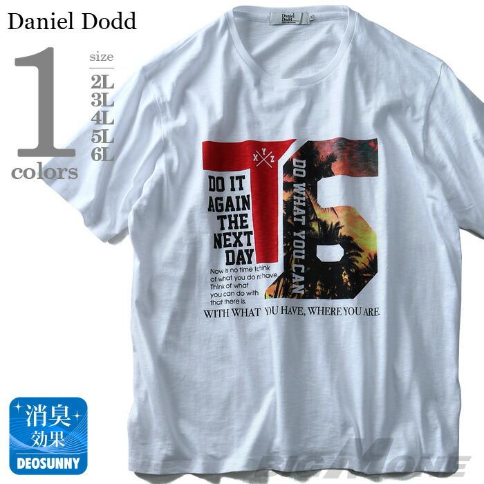 DANIEL DODD スラブフォトプリント半袖Tシャツ azt-180295