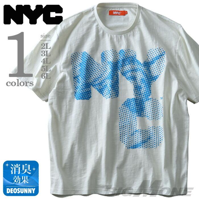 NYC プリント半袖Tシャツ azt-1802107