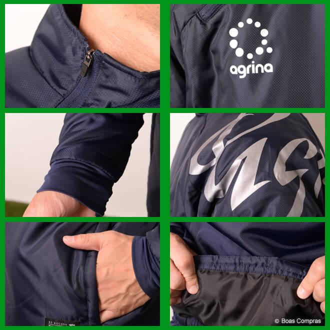 アグリナ/agrina 中綿ウォーマージャケット エストゥール中綿ウォーマートップ
