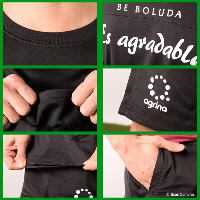 アグリナ/agrina プラシャツ上下セット レフォルマプラシャツ上下セット