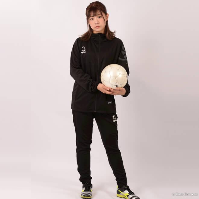 アグリナ/agrina ジャージセットアップ デセアル トレーニングジャージフードジャケット上下セット12
