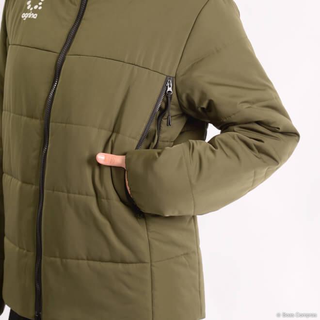 アグリナ/agrina アウター Premiumラミエンド中綿ウォームジャケット7