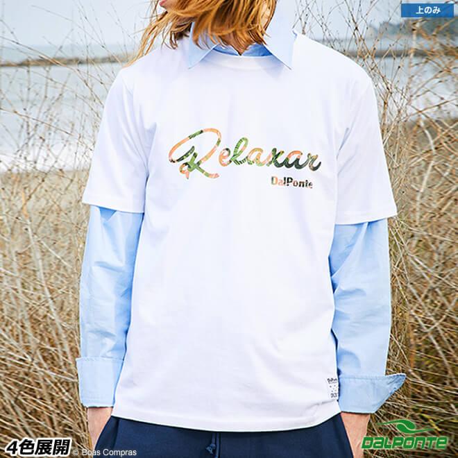 ダウポンチ/dalponte Tシャツ フラワーロゴTシャツ