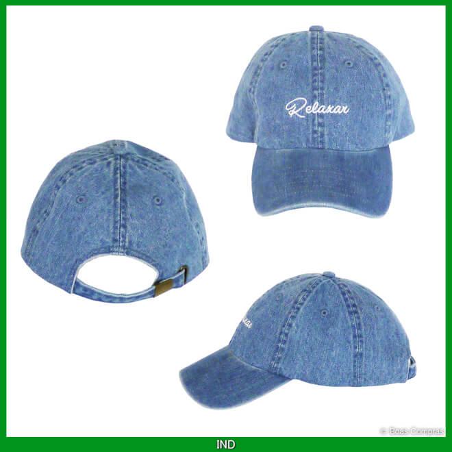 ダウポンチ/dalponte 帽子 デニムキャップ