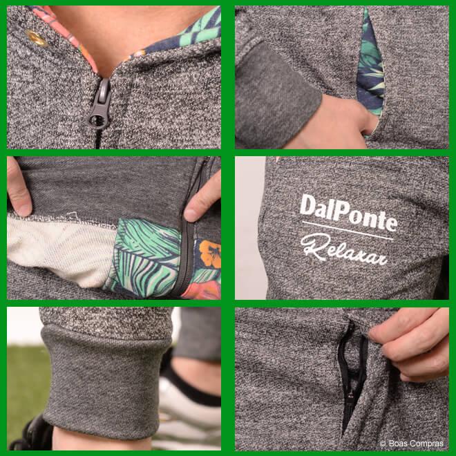 ダウポンチ/dalponte スウェット ジップフードスウェット上下セット