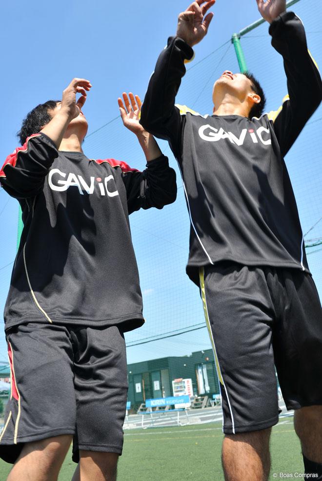 ガビック/gavic フットサル ウェア ウォーミングハーフ上下セット