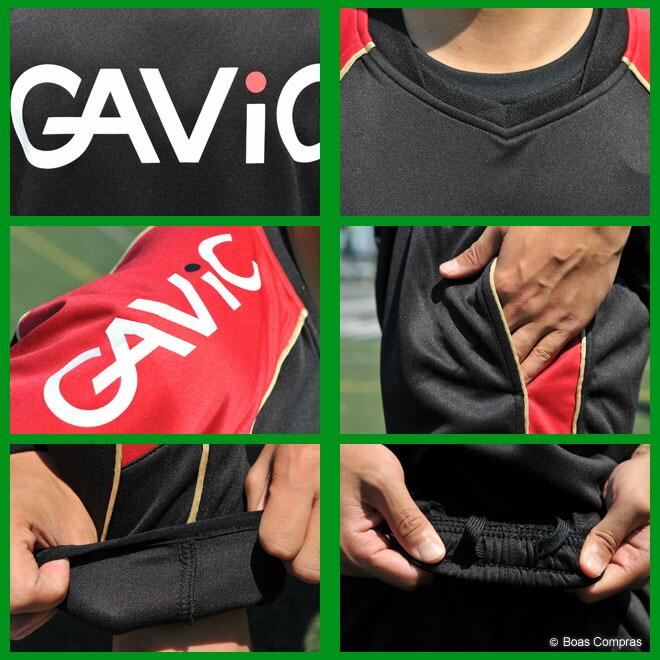 ガビック/gavic フットサル ウェア ジュニアウォーミング上下セット