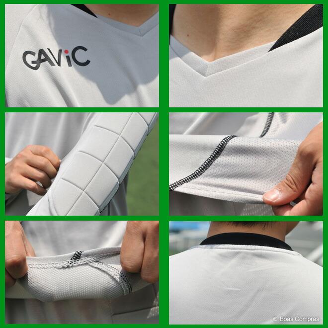 ガビック/gavic フットサル ウェア ジュニアキーパーシャツ