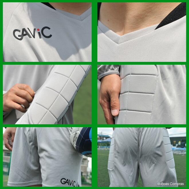 ガビック/gavic フットサル ウェア ジュニアキーパーウェア上下セット