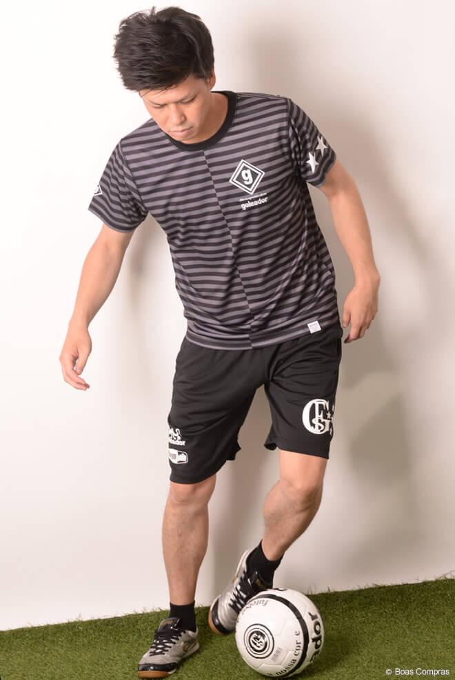 ゴレアドール/goleador プラシャツ 昇華ボーダープラシャツ