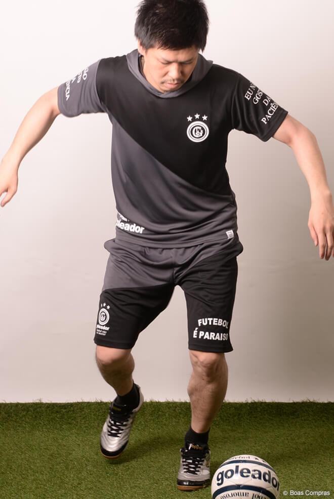 ゴレアドール/goleador プラシャツ上下セット 斜め切替フードプラシャツ上下セット