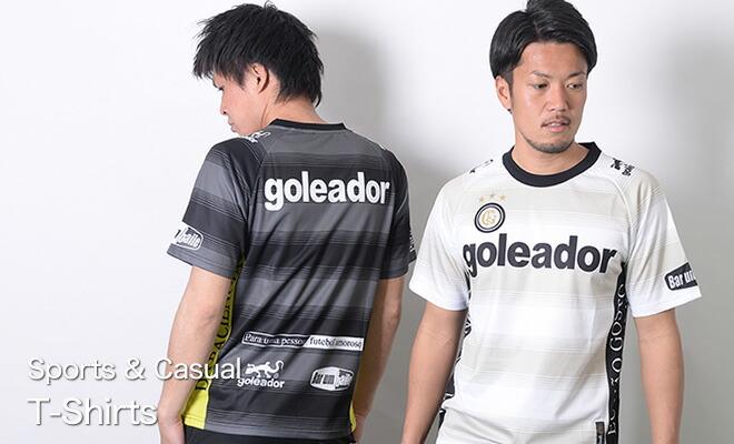 スポーツ・カジュアルTシャツ