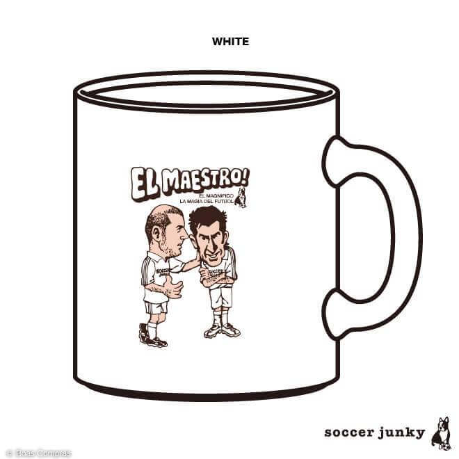 サッカージャンキー/soccerjunky マグカップ 【受注生産4〜5週間】マグカップ