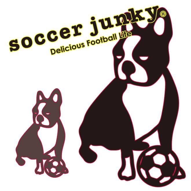 サッカージャンキー/soccerjunky Tシャツ 【受注生産6〜7週間】MaillotbleuTシャツ