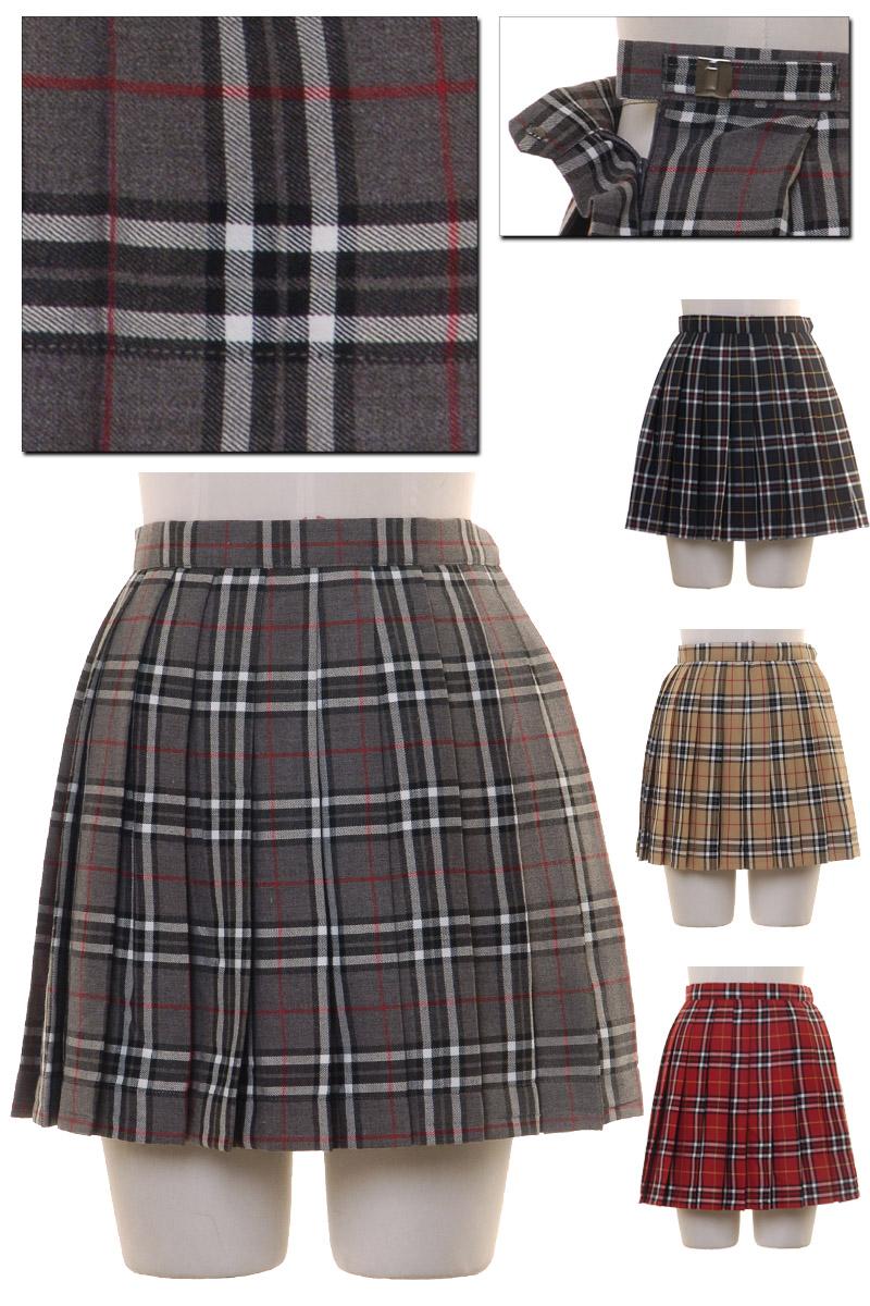 スクールスカートチェック柄コスプレセーラー服制服女子高生ブレザーS〜4Lサイズあり4色展開costume433衣装