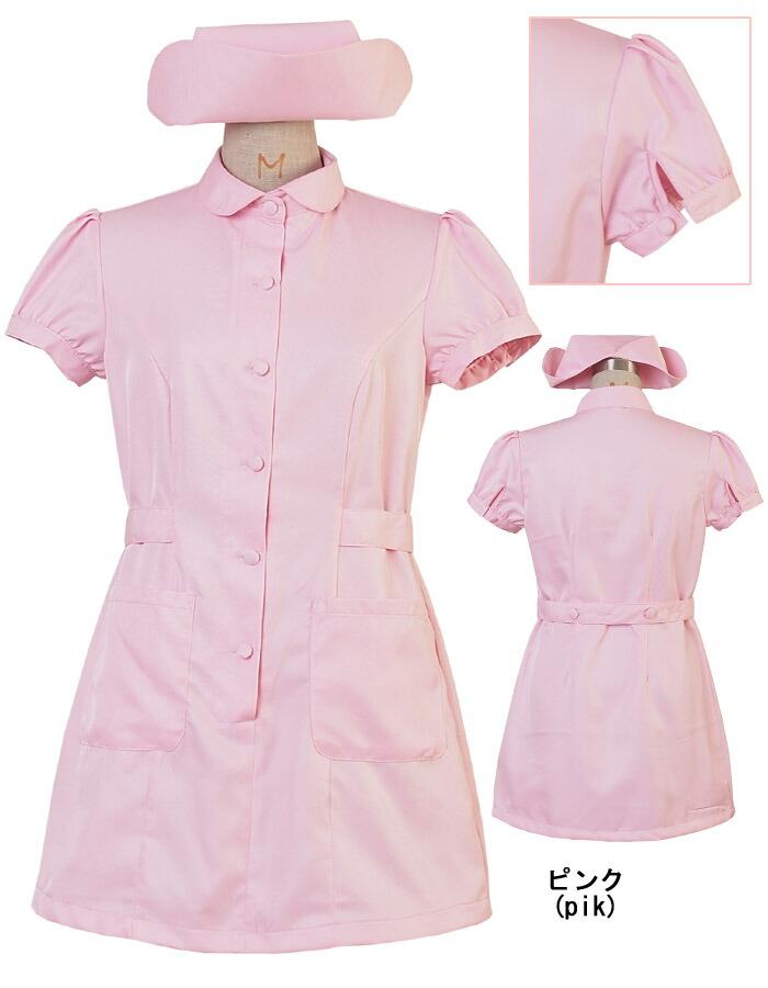 カラフルナース2点セットM〜2Lサイズあり全7色展開costume968衣装