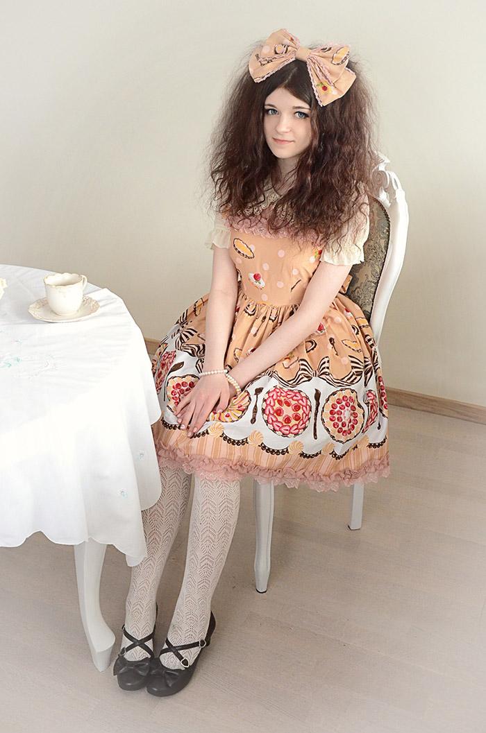 ゴスロリロリータジャンパースカートL560パンクゴシックコスプレメイドコスプレ衣装コスチューム衣装コスプレアニメ激安通販衣装