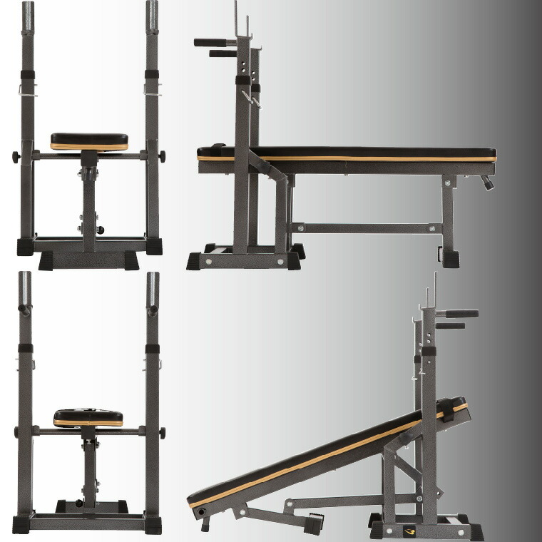 Bench Press Abs Part - 17: Bench Can Be Folded