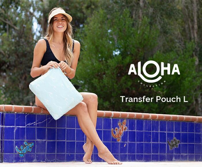 アロハコレクション/【L】Aloha Collection Transfer Pouch L 撥水ポーチ Lサイズ