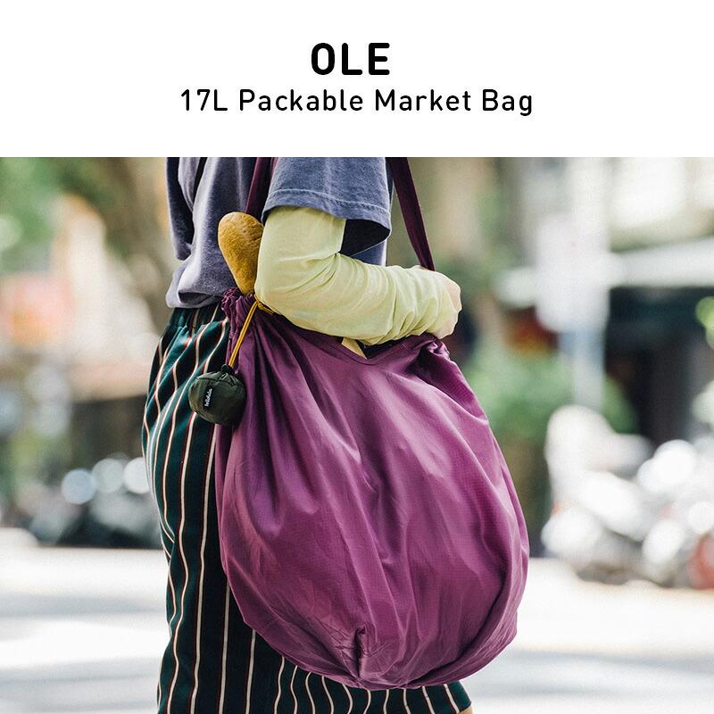 ハロルル/Hellolulu OLE(オーレ)17Lパッカブル マーケットバッグ