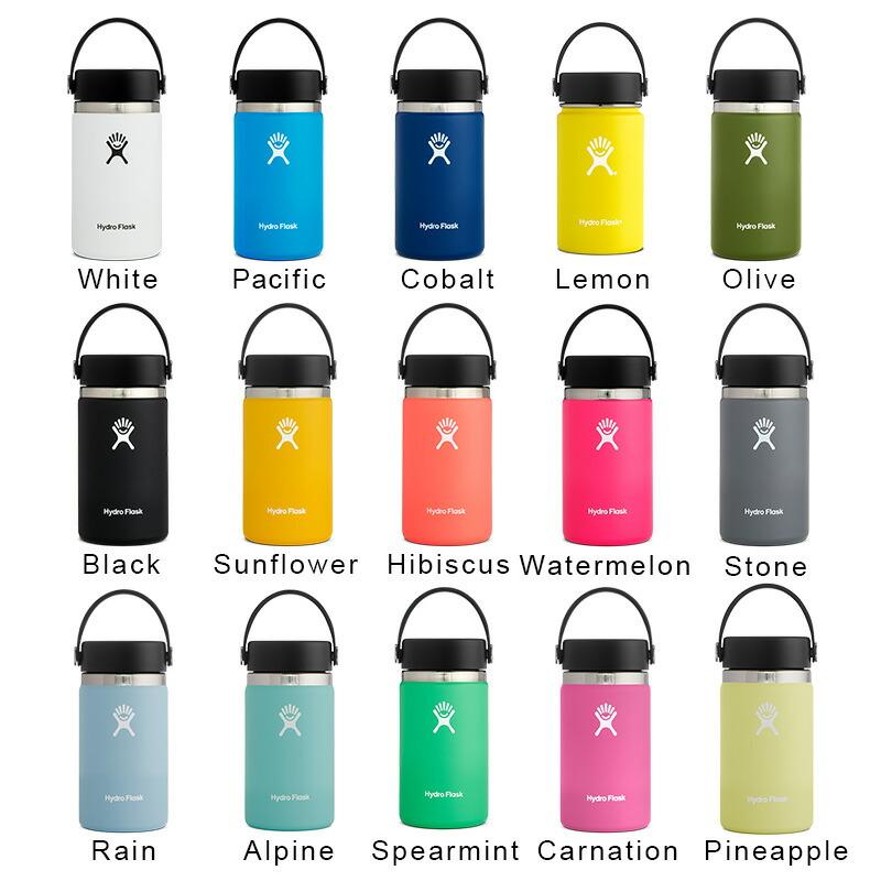 ハイドロフラスク Hydro Flask 12 oz Wide Mouth ステンレスボトル(354ml)