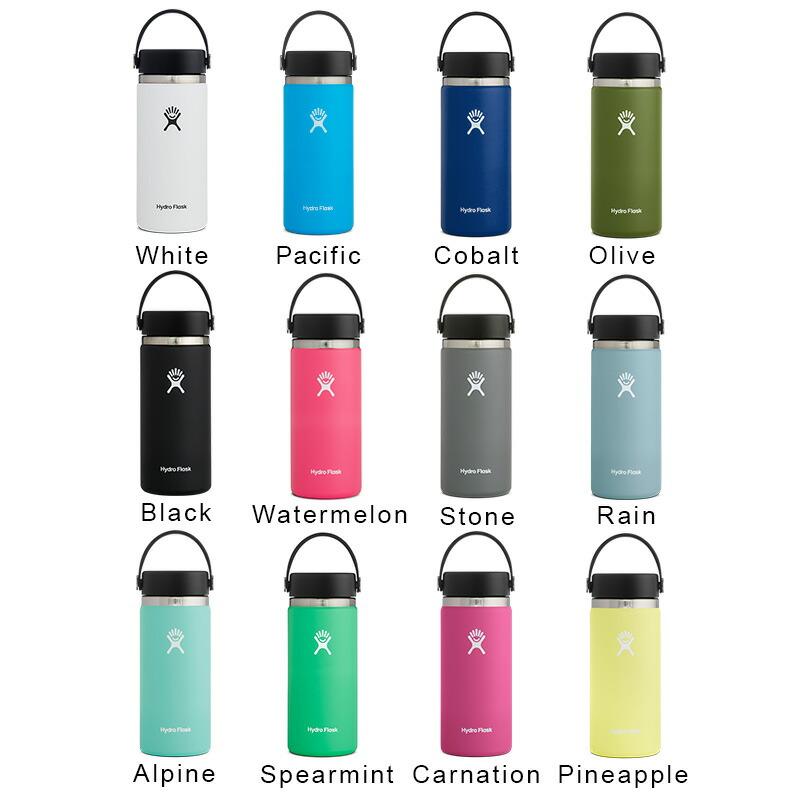 ハイドロフラスク Hydro Flask 16 oz Wide Mouth ステンレスボトル(473ml)