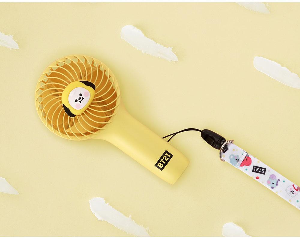 BT21ミニ扇風機