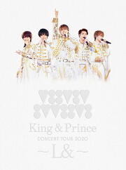 King & Prince CONCERT TOUR 2020 ~L&~(初回限定盤 Blu-ray)【Blu-ray】