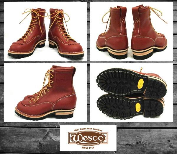 WESCO(ウエスコ)正規取扱店BOOTS MAN