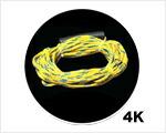トーイングチューブ用ロープ 4K