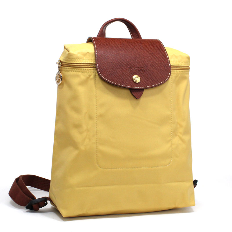 5bb324a7c907 ロンシャン LONG CHAMP バックパック リュックサック ル·プリアージュ カリー イエロー Le Pleage Back Pack Curry  L1699 089 C91 【新品 / 正規品】【20,000円以上お ...