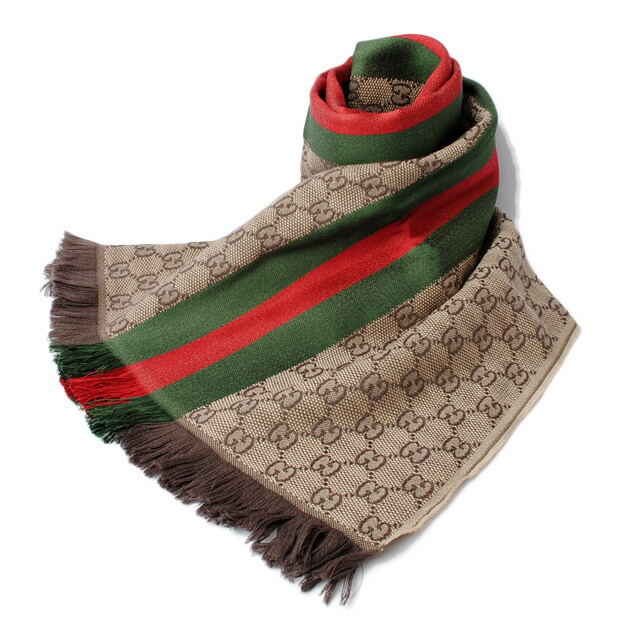 a9655006156a6 Import shop P.I.T.  Gucci scarf   winter scarf GUCCI GG jacquard ...