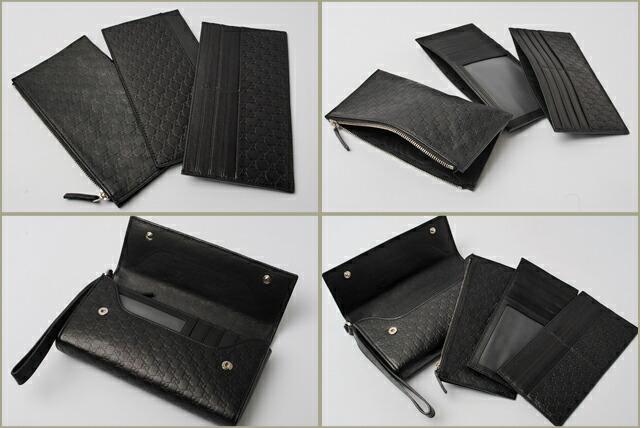 quality design b00c0 9667a GUCCI グッチ 長財布/トラベルケース マイクログッチシマ ...
