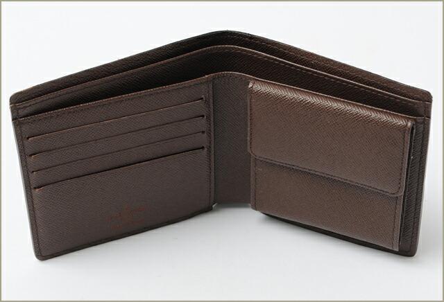 ルイ ヴィトン カードポケット付 折財布/ポルトフォイユ・フロリン ダミエ N60011