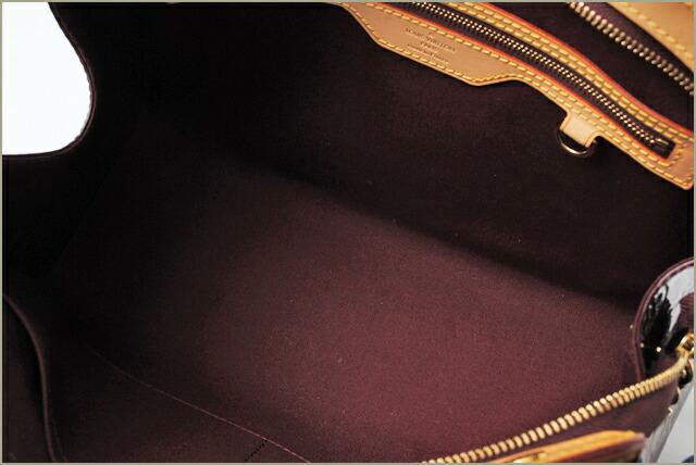 ルイヴィトン ハンドバッグ ヴェルニ (ベルヴューPM) アマラント M93585
