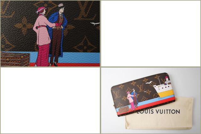 ルイ ヴィトン ダミエ ラウンドファスナー式長財布(ジッピー・ウォレット) N60015